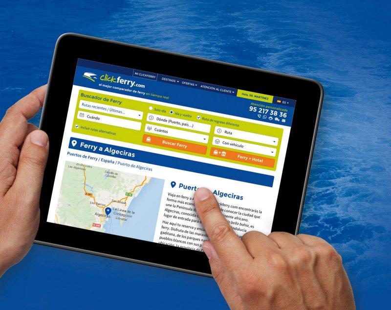 Diseño web Clickferry