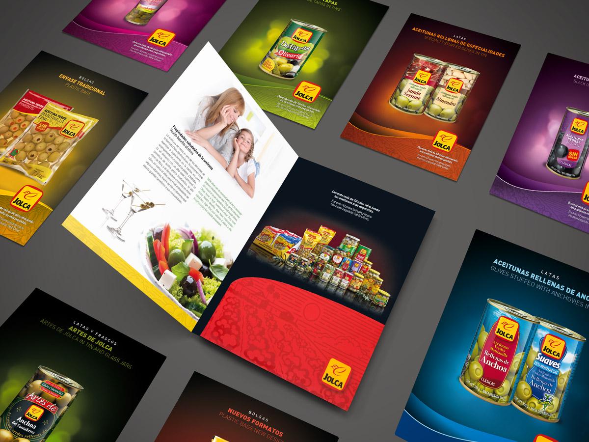 Diseño de catálogo y fichas de productos
