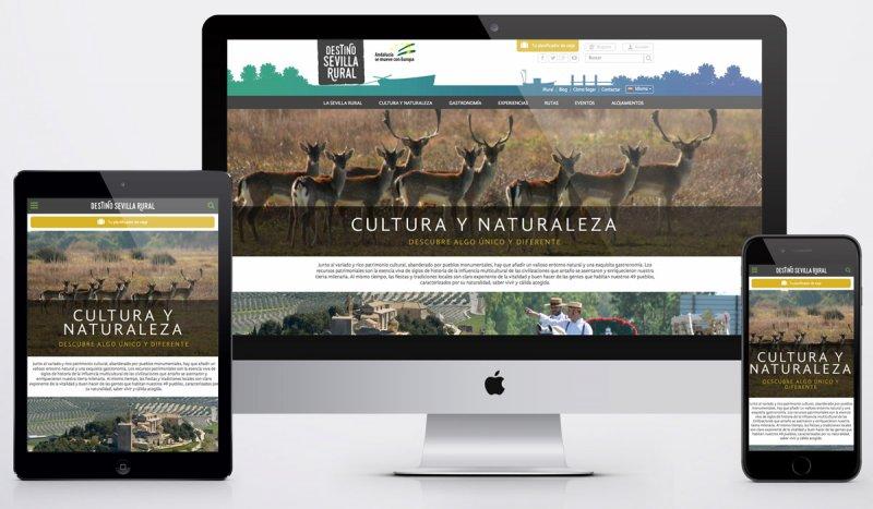 Diseño web Destino Sevilla Rural