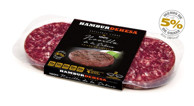 diseño de estuches y etiquetas de hamburguesas