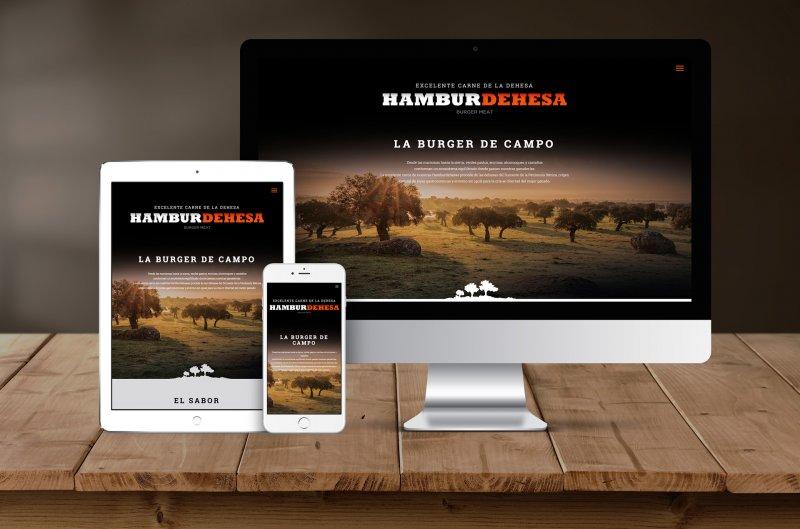 Diseño web Hamburdehesa Oficiina de Arte