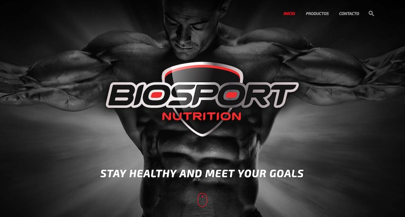 Diseño de branding y packaging Biosport Nutrition