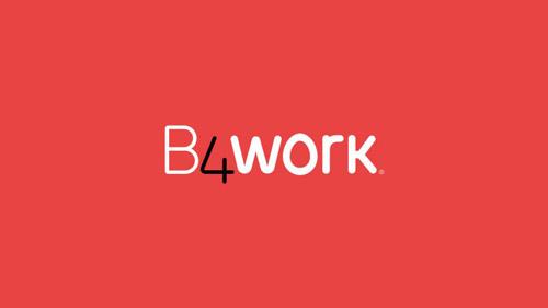 Diseño de identidad corporativa B4work.
