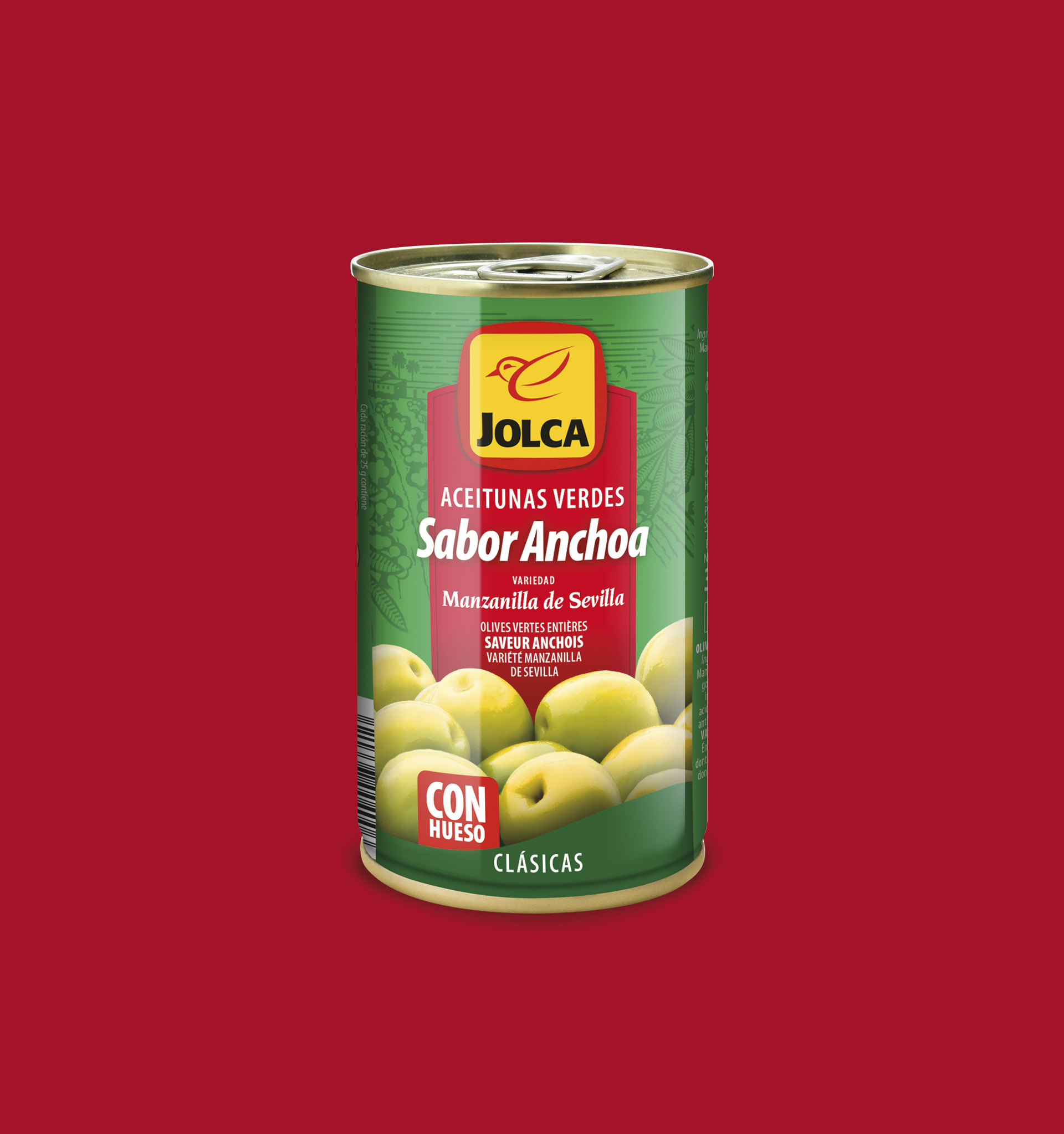 Restyling del packaging de Jolca Oficina de Arte